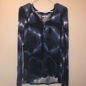 Kenneth Cole Reaction Tie Dye Blouse